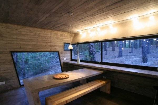 Дом из бетона - интерьер