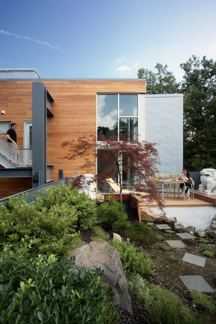 Стильный дом - фото