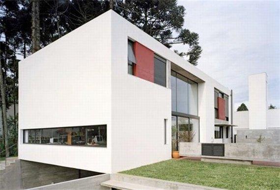 загородный дом Una Arquitetos