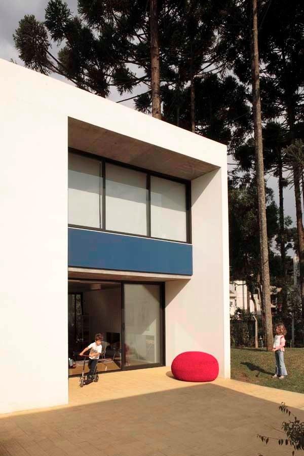 красивый дом Una Arquitetos