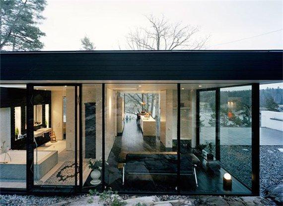 проект дома на холме Casa Barone