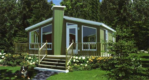 Сборный дом Habitaflex