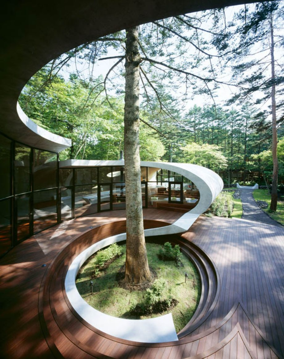 Японский дом фото