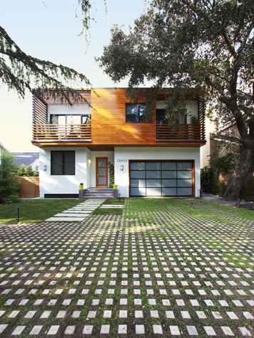 Зеленый дом по виду и содержанию