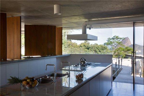 Вилла в Санта-Тереса - кухня