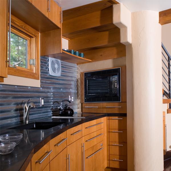 Дом для одного человека - кухня