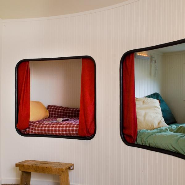 Дом для одного человека - спальня