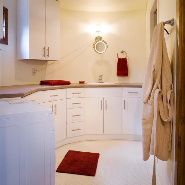 Дом для одного человека - ванная