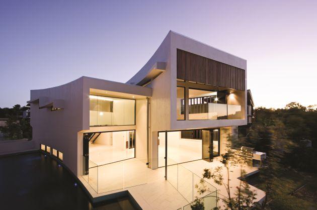Вилла Elysium 154 по проекту BVN Architecture