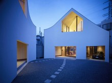 Двухэтажный дом по проекту Акио Накаса