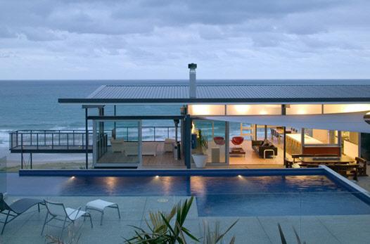 свой дом на побережье по проекту Пита Боссли