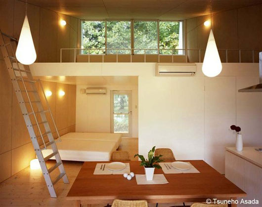 дома из алюминия - интерьер
