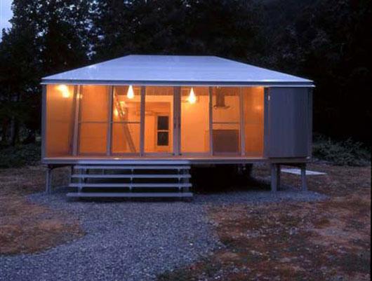 маленький дом из алюминия фото 1