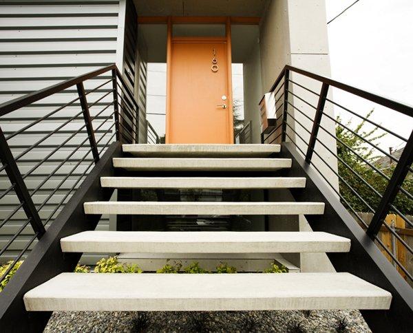 частный бюджетный дом - проект Crockett Residence