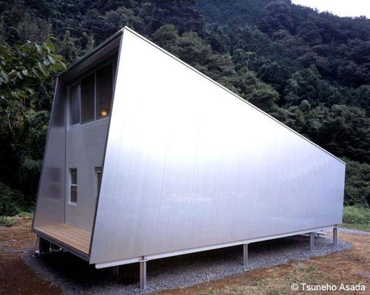 дом из алюминия