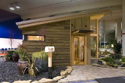 загородный модульный дом в экологическом стиле по проекту FabCab
