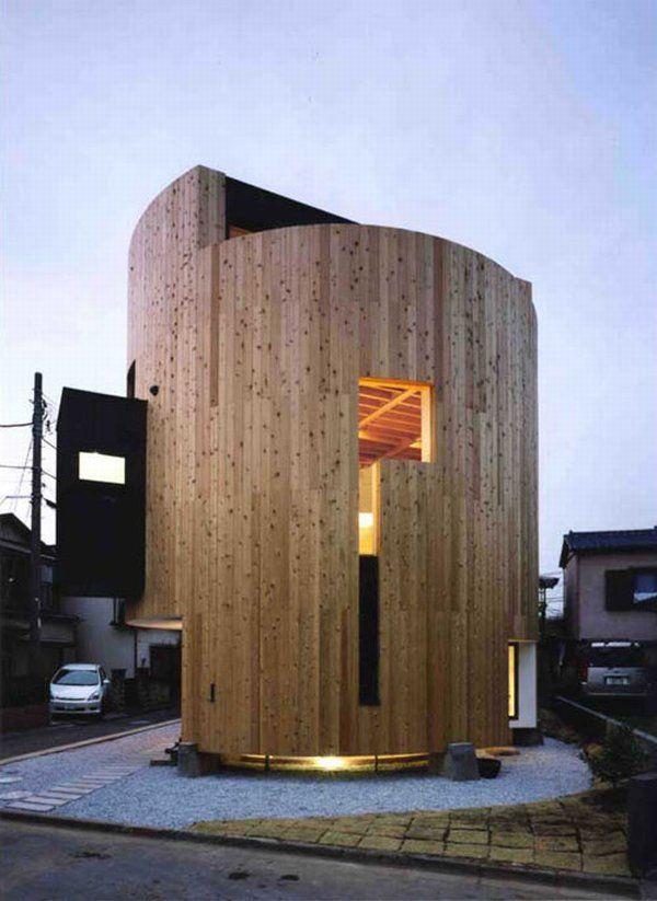 загородный дом  по проекту Ryoko & Keisuke Masuda