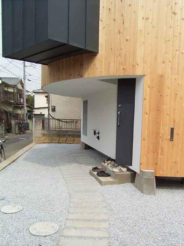 свой дом по проекту Ryoko & Keisuke Masuda