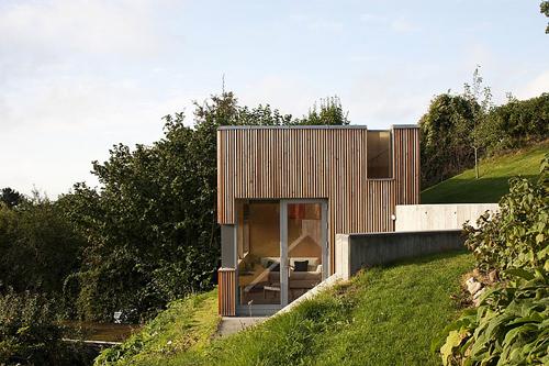 Гостевой домик и мастерская по проекту C.F. Moller Architects
