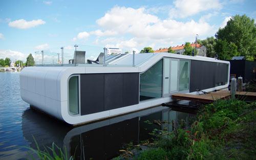 Дом на воде по проекту +31ARCHITECTS