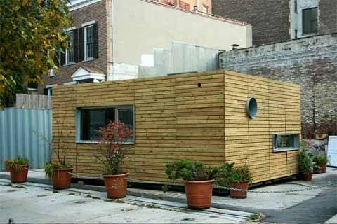 Дома из грузовых контейнеров - фото 1