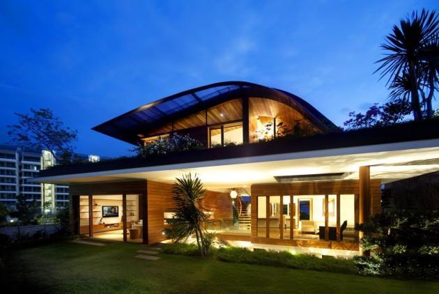 частный жилой дом  по проекту Guz Architects