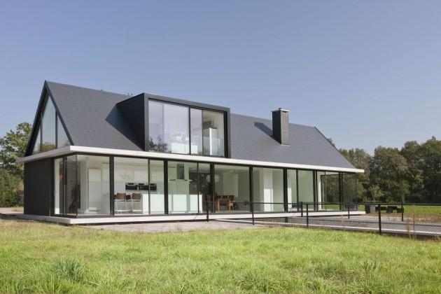 Просторный дом по проекту Хофман Архитектсs
