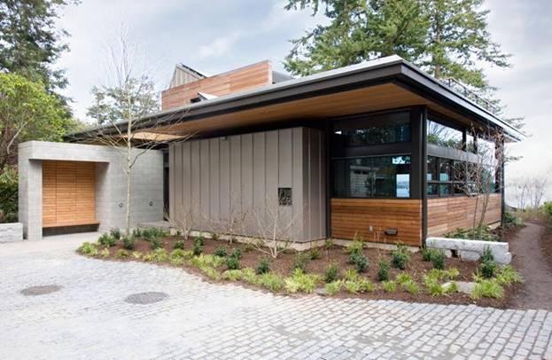 Прогрессивный экологичный дом по проекту Coates Design Architects