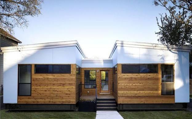 модульный дом по проекту Ma Modular