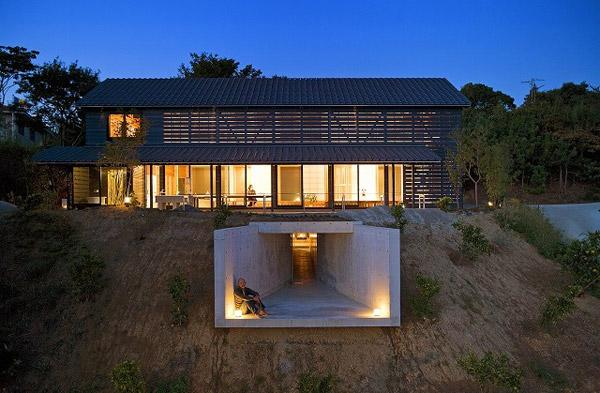 Дом в амбарном стиле по проекту Yukiharu Suzuki & Associates