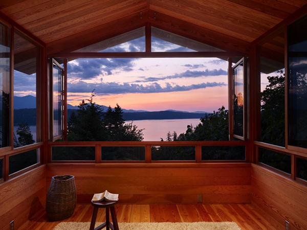 свой дом на озере по проекту BjarkoSerra Architects