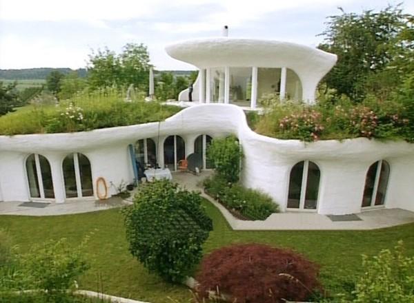 Земляные дома от Vetsch Architektur