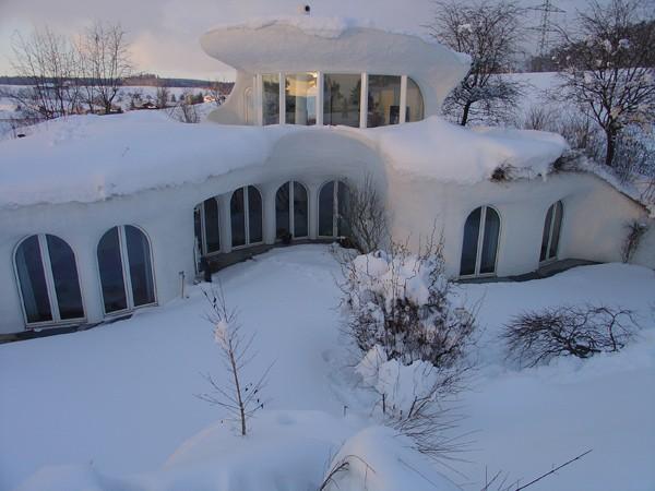 Земляные дома от Vetsch Architektur фото 5