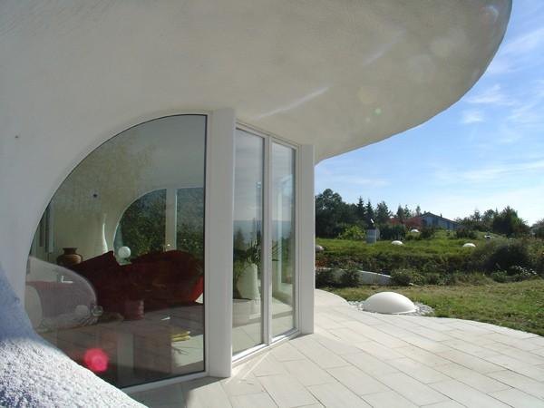 Земляные дома от Vetsch Architektur фото 2