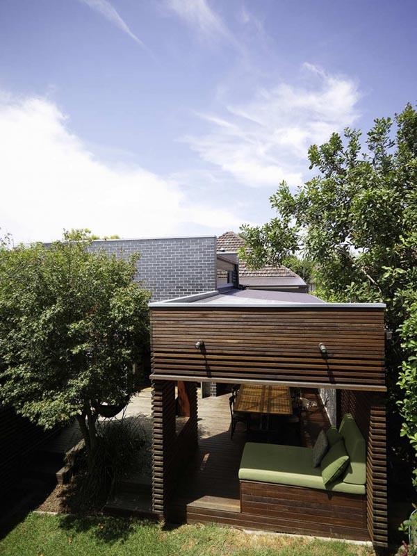 фото дома из кирпича Haberfield House