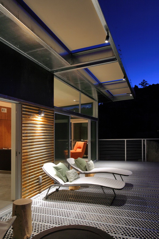 Быстровозводимый дом на стальном каркасе фото 8