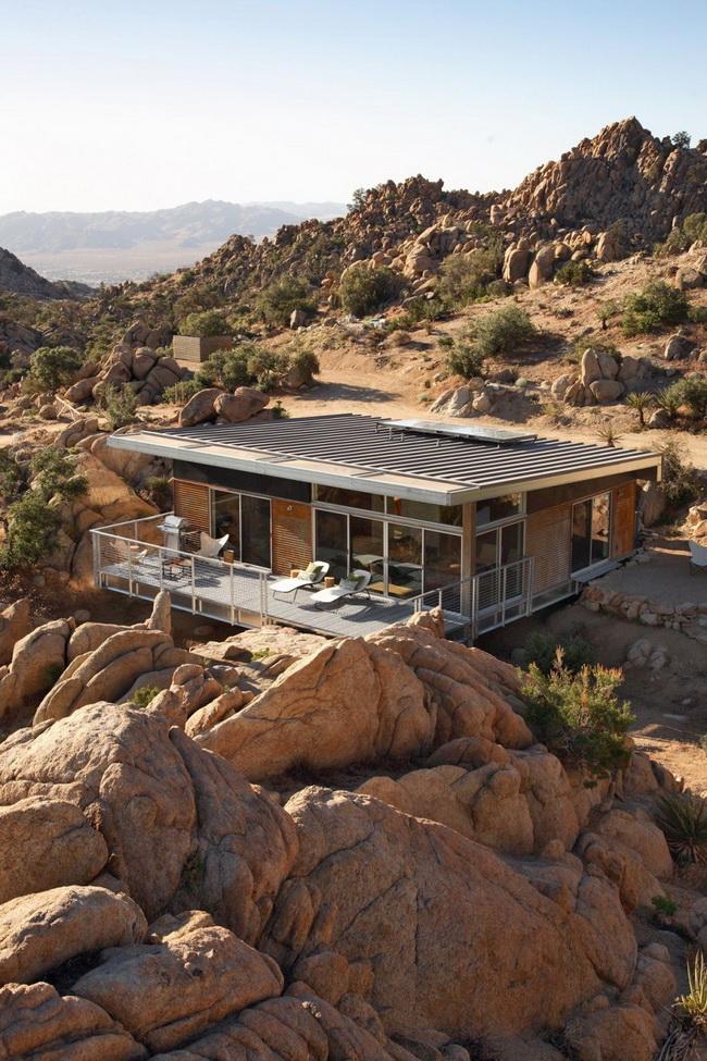 Быстровозводимый дом на стальном каркасе фото 13