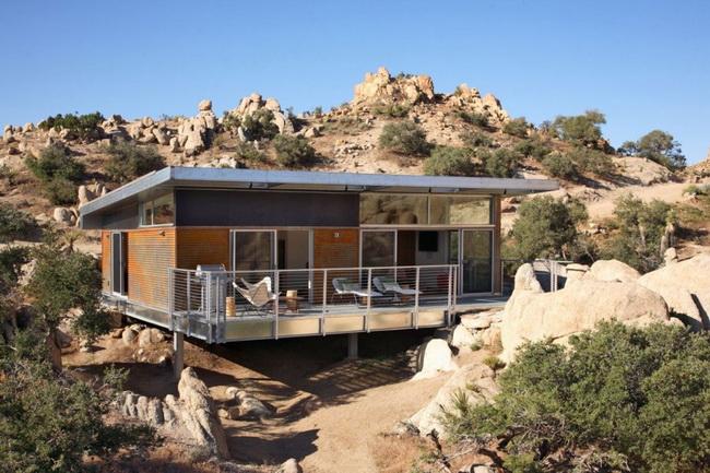Быстровозводимый дом на стальном каркасе фото 6