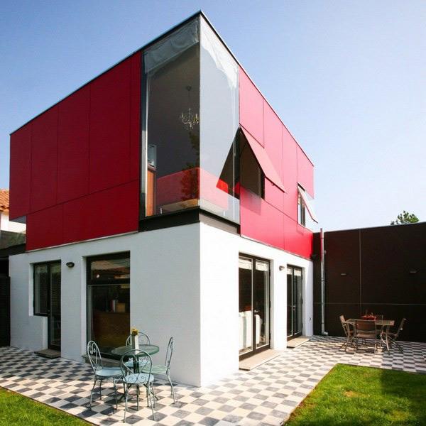 загородный дом площадью 150 квадратных метров