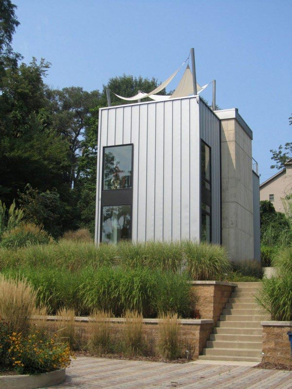 Дом с террасой на крыше фото 2