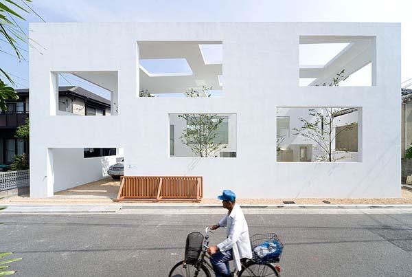 Инновационная японская архитектура фото 1