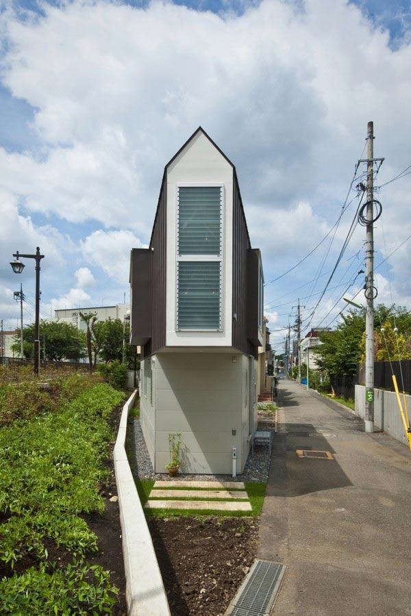 загородный дом на площадке в 29 кв. м