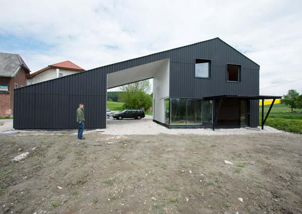 Черный дом - проект Икс Архитектен