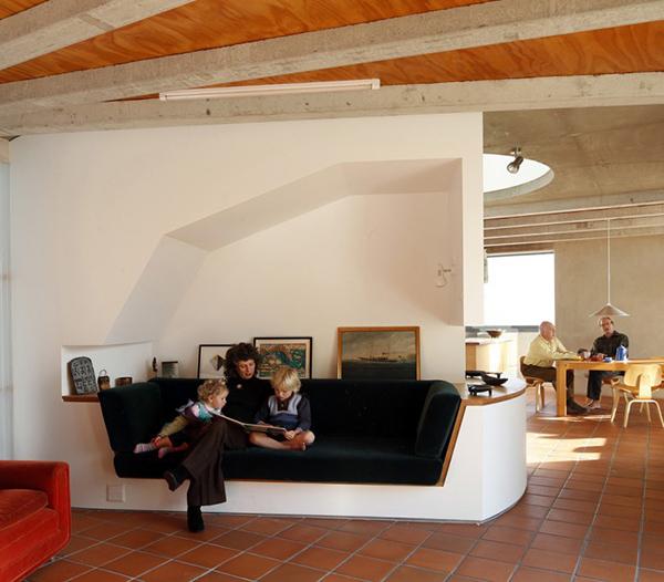 Дом с пластиковой крышей фото 1