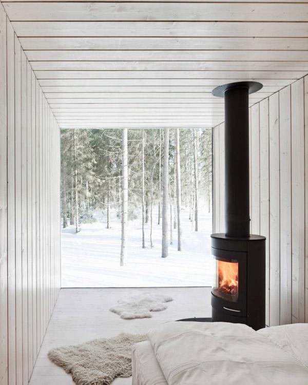 прекрасный деревянный финский домик фото 2