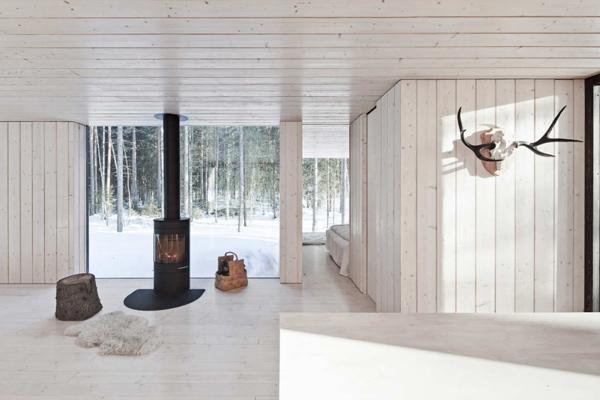 прекрасный загородный финский домик фото 4