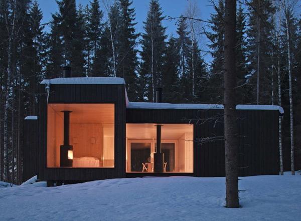 прекрасный загородный финский домик фото 8