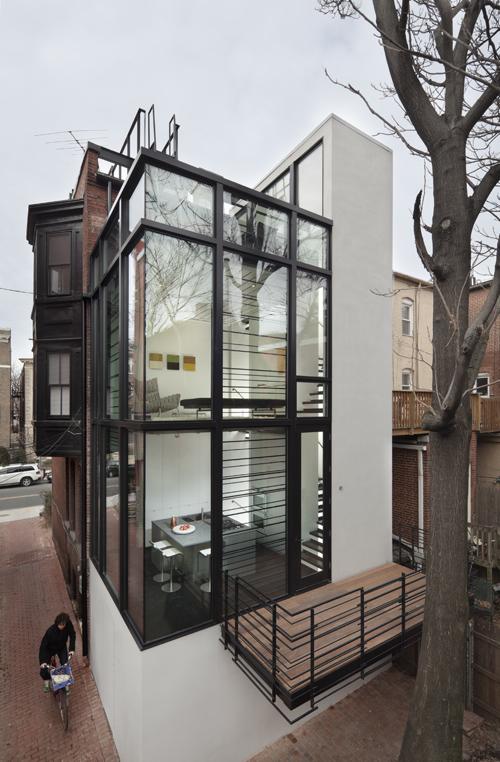 частный дом в городе