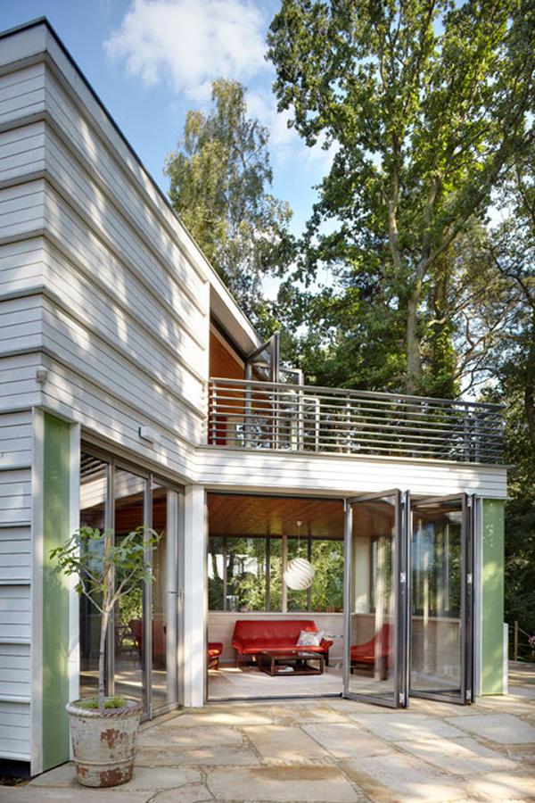 проект дома на берегу озера