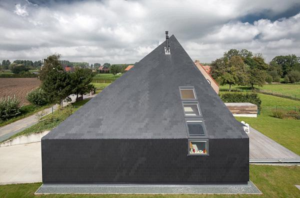 загородные дома-пирамиды фото 2
